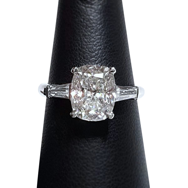 8c0f97402 Elongated Cushion Engagement Ring - CB2 - My Moissanite - Custom ...